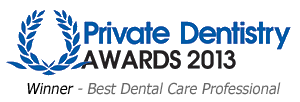 Winners of the Private Dentistry Awards Best Dental Professional 2013 - Sarah Price BDS